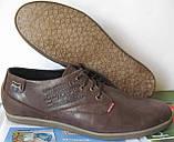 Levis туфли мужские коричневого цвета в стиле Левис кожа весна лето осень, фото 2