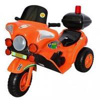 Мотоцикл Электро Орион 372 в оранжевом цвете