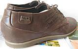 Levis туфли мужские коричневого цвета в стиле Левис кожа весна лето осень, фото 6