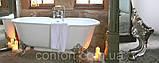 Классическая чугунная ванна на ножках в ретро стиле CHEVERNY, фото 2