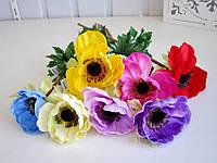 Искусственные цветы Анемоны