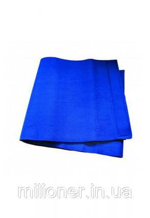 Пояс неопреновый для фитнеса Hop-Sport HS-18P синий, фото 2