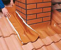 Лента для примыканий Вакафлекс (Wakaflex) Braas, цвет коричневый 10 м
