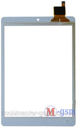 Тачскрин (сенсорный экран) V88S mini, CHUWI CW0842i, Crown B806 (p/n:HY51042, HY 51042) белый, фото 2