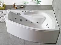 Ванна акриловая угловая PoolSpa коллекция Nicole 150х90х60 R PWANU10ZN000000 + ножки