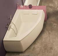 Ванна акриловая угловая PoolSpa коллекция Aquamarina 175х120х69 R PWAJ710ZS000000 + рама