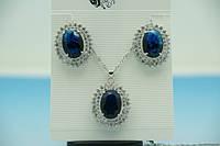 Выставлены комплекты ювелирной бижутерии с кристаллами Сваровски (Swarovski) 128 стильных моделей