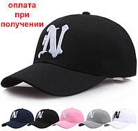"""Чоловіча нова, стильна кепка, бейсболка з вишитим лого """"N"""", фото 1"""