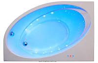 Ванна акриловая угловая PoolSpa коллекция Orbita 140х100х61 L PWA9Q10ZS000000 + ножки