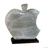 Соляной светильник яблоко apple, 1 кг