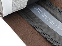 Вентиляционная лента конька  Фигаролл (Figaroll) Braas, цвет коричневый