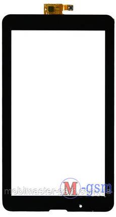 Тачскрин (сенсорный экран)  (p/n: FPC-70C2-V03/04,FPC-70C2-V04) черный, фото 2