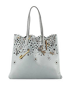 Сумка Marc Jacobs Wingman Laser Cut Embellished Patent Leather Tote