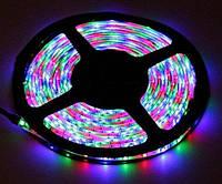 Светодиодная лента LED 3528 RGB комплект 5 метров, разноцветная. Хорошее качество. Яркие цвета. Код: КДН1772