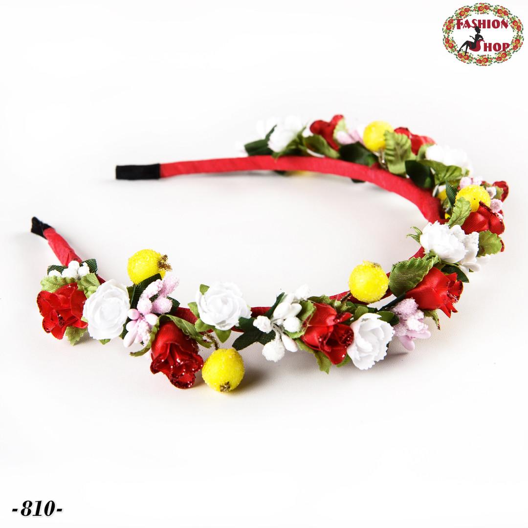Обруч для волос Великолепные цветы
