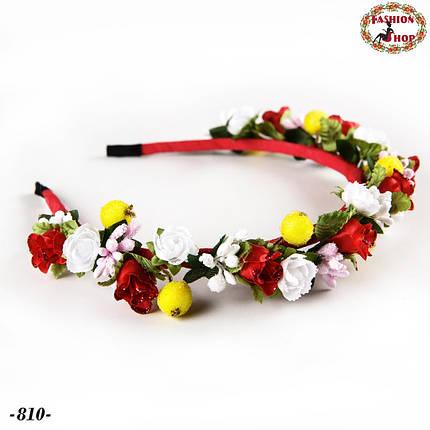 Обруч для волос Великолепные цветы, фото 2