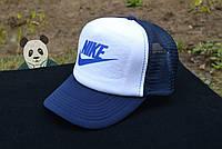 Темно-синяя кепка найк