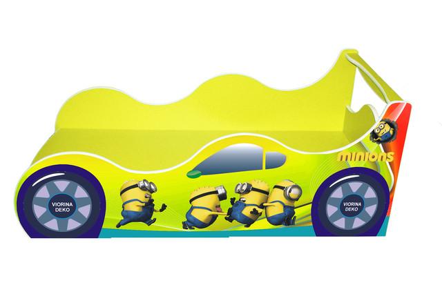 Кровать Миньйон желтый