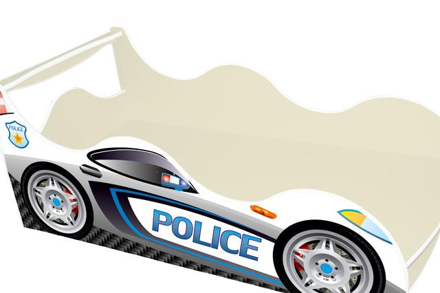 Кровать Полиция белая
