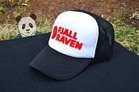 Черно-белая кепка Fjall Raven