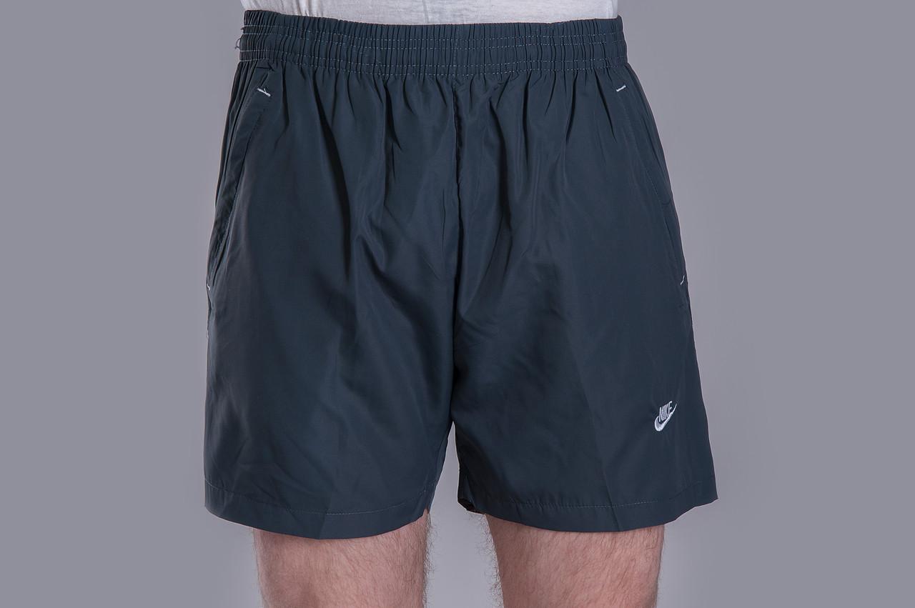 Чоловічі шорти NIKE (плащівка), темно-сірого кольору