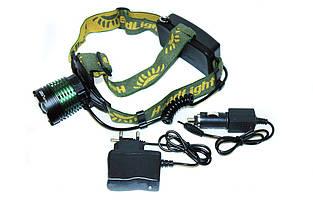 Налобный фонарик POLICE BL-2188B T6, фото 2
