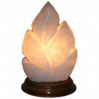 Соляная лампа Лист резной, 2.5 кг