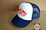 Синяя кепка Vans Off the wall