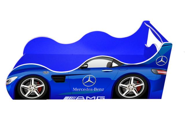 Кровать Мерс Д 022 синий