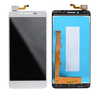 Оригинальный дисплей (модуль) + тачскрин (сенсор) для Lenovo A3860 (белый цвет)