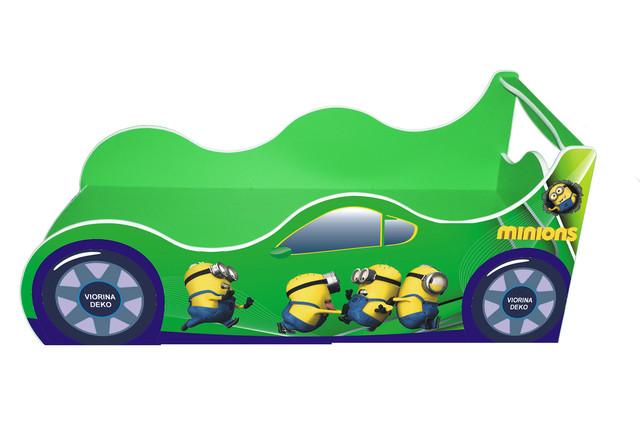 Кровать Миньйон зеленый