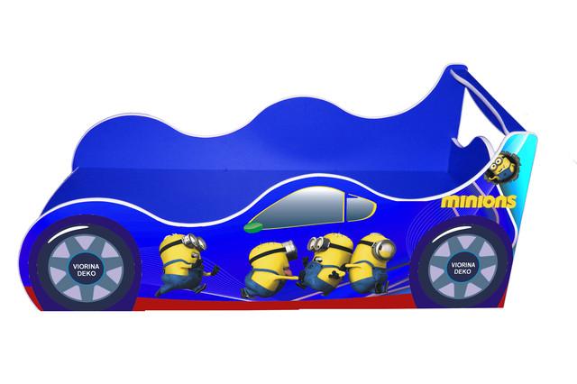 Кровать Миньйон синий