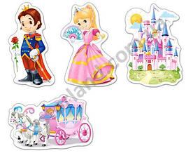 Пазлы Castorland 005031 Принцесса 9-6-4-3