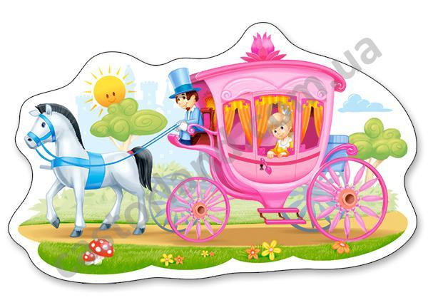 Пазлы 15 элементов Castorland 015122 Принцесса
