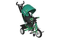 Велосипед Mini Trike 950D зелено-чорный
