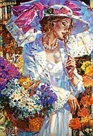 Пазлы Castorland 103294 Хризантемы в саду