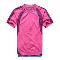 Женская розовая велофутболка Crivit. р. M, L.