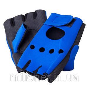 Неопреновые перчатки для фитнеса Hop-Sport, фото 2