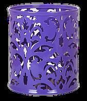 """Підставка для ручок BUROMAX """"Barocco"""" фіолетовий, 100х83 мм (BM.6204-07)"""