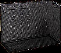 Короб для підвесних файлів 315x140x245мм, металевий, чорний