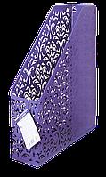 """Лоток вертикальний """"Barocco"""" 338x248x70мм, металевий, фіолетовий"""