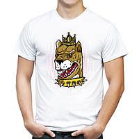 "Мужская футболка ""Собака"""