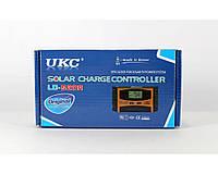 Контроллер для солнечных панелей Solar controler UKC LD-510A защита от перегрузки, 10A, 12 / 24V, 3 светодиодных индикатора, звуковой сигнал
