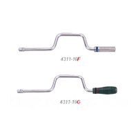 """Вороток 1/2"""" коловорот 410мм KINGTONY 4311-16F"""