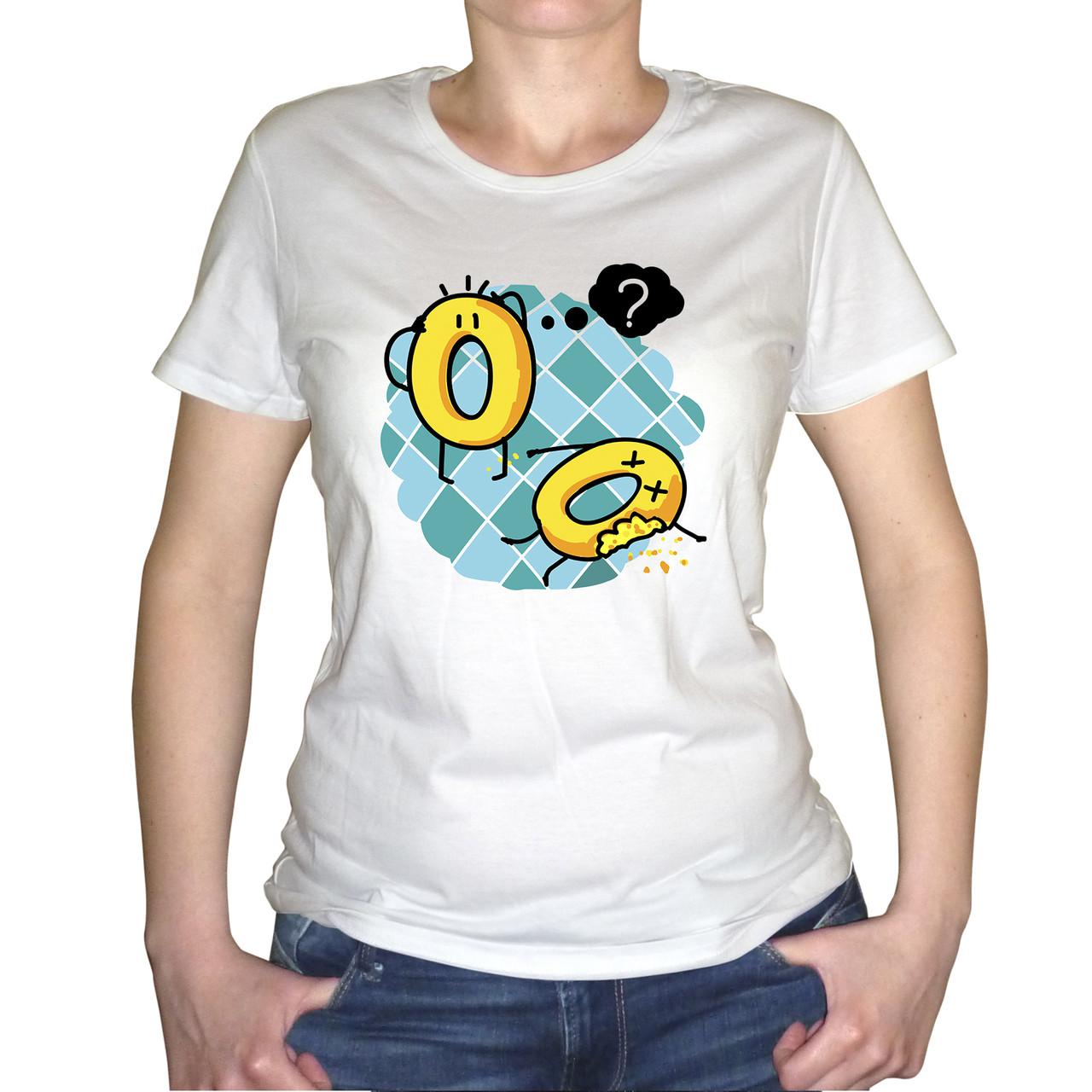 """Женская футболка """"Печеньки"""""""