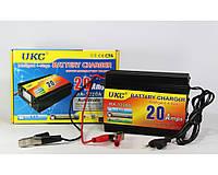 Зарядное для авто аккумулятора UKC MA-1220A стрелочный амперметр, 20A, 12 В, импульсный, 3 уровня зарядки