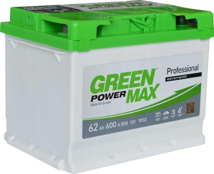 Аккумуляторная батарея  62 а/ч АЗЕ Green Power Max (Евро)