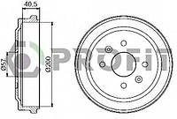Барабан тормозной Daewoo Lanos/Sens (-ABS) (Profit 5020-1002)