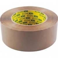 Стрічка клейка пакувальна 48 мм х 100 м Economix, коричнева