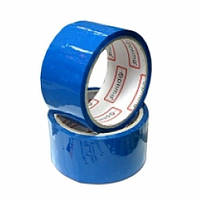 Стрічка клейка пакувальна 48 мм х 33 м Optima, синя